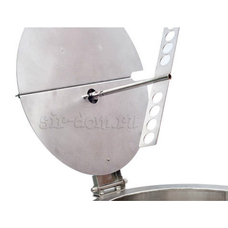 Вымешивающее устройство (мешалка) для сыроварни